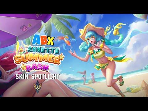 Arena Of Valor South Asia Server | Annette Summer Bash Skin Spotlight
