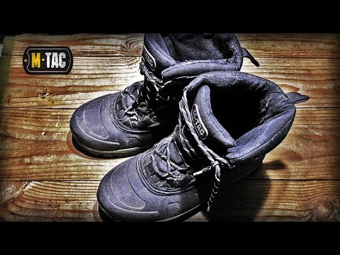 Відео огляд черевиків M-Tac Thinsulate Ultra
