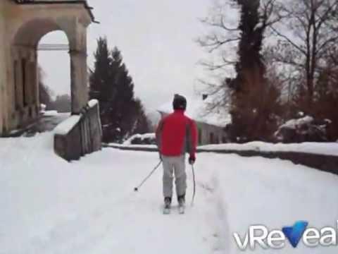 Con gli sci sulla Via delle Cappelle al Sacro Monte (Varese)