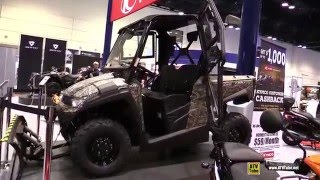 8. 2016 Kymco UXV 450i Camo Utility ATV - Walkaround - 2015 AIMEXPO Orlando