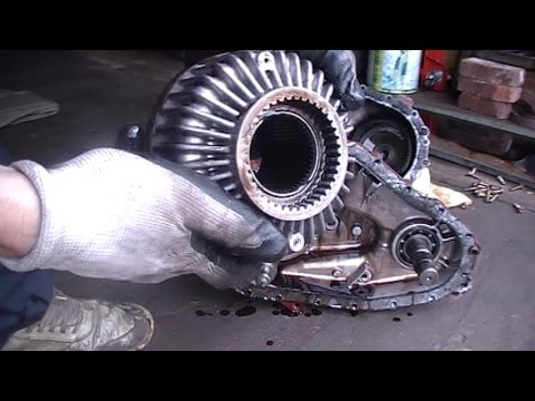 A viscous coupling AWD  Ford / Mountaineer 2002-2010 (видео)