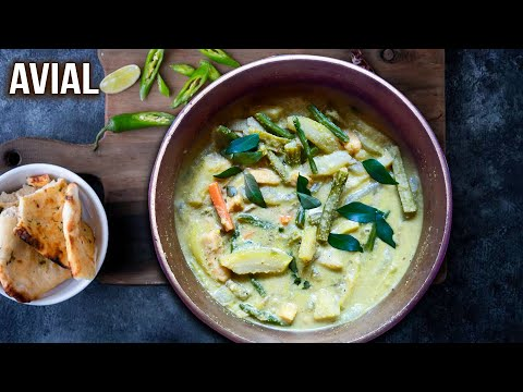Avial Recipe | How To Make Aviyal | Mixed Vegetable Curry | Healthy Indian Meal | Varun