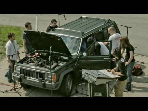 juliansmith87 - The sounds in this video are ACTUAL sounds from the Jeep. Everyone began rehearsing their parts 2 weeks before we shot the video. It took us 7 hours of filmi...