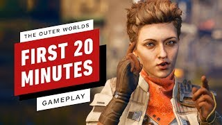 The First 20 Minutes of The Outer Worlds - IGN First by IGN