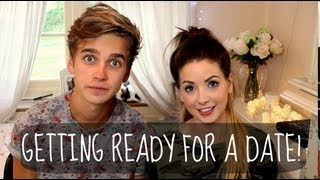 Zoella Helps Me Get Ready For A Date! | ThatcherJoe