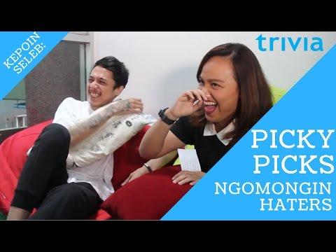 Video Picky Picks Ngomongin Soal Haters! download in MP3, 3GP, MP4, WEBM, AVI, FLV January 2017