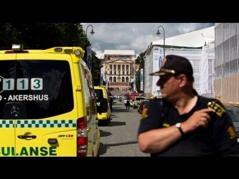 قنبلة وهمية تثير ذعرا بالقرب من السفارة الأمريكية فى أوسلو - فيديو