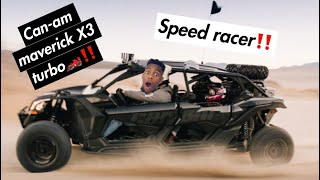 8. CAN AM Maverick X3 Turbo R 4 Seater�💨‼�‼�(FIRST RIDE WITH KIXKZ GALORE�)