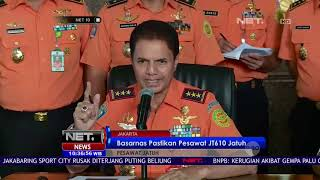 Video Gelar Konferensi Pers, Basarnas Pastikan Pesawat JT 610 Jatuh-NET 10 MP3, 3GP, MP4, WEBM, AVI, FLV November 2018
