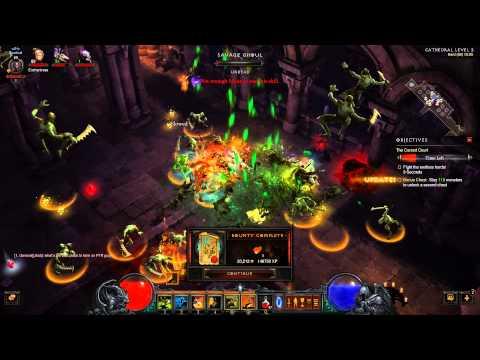 Diablo III Reaper of Souls: Coffre maudit (cursed chest)
