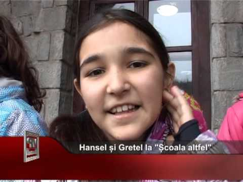 """Hansel și Gretel la """"Școala altfel"""""""