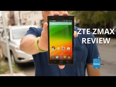 ZTE ZMAX Review