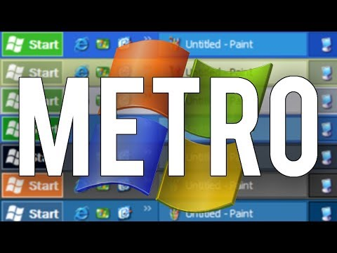 Metro XP - A Modern Approach to the Luna Theme (Overview)