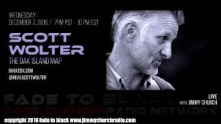 Ep. 569 FADE to BLACK Jimmy Church w/ Scott Wolter : The Oak Island Map : LIVE