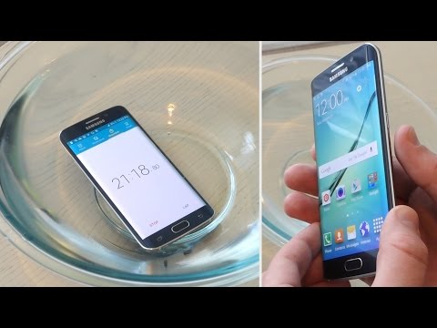 Samsung Galaxy S6 edge drop and water tests