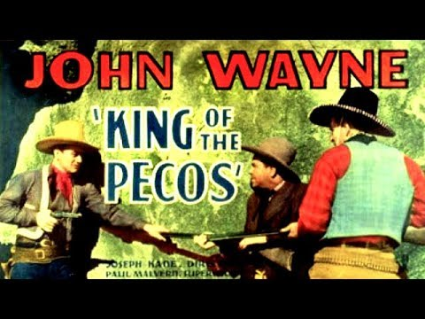 KING OF THE PECOS - John Wayne, Muriel Evans, Cy Kendall - Full Western Movie / English