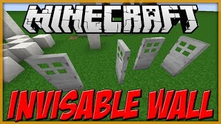 Minecraft: TUTORIAL - Invisible walls [Map-Making]