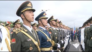 Video Chinese Honor Guard Debuts at Belorussian National Day Ceremony MP3, 3GP, MP4, WEBM, AVI, FLV September 2018