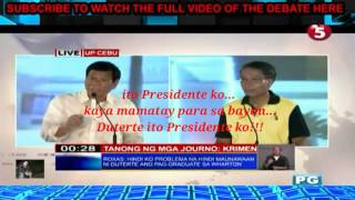 Video Duterte sinabon si Mar roxas MP3, 3GP, MP4, WEBM, AVI, FLV Juni 2018