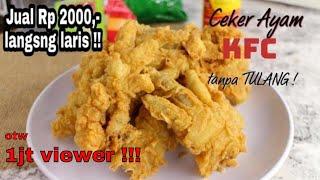 Video Belom ada yang Jual !! CEKER AYAM KFC TANPA TULANG MP3, 3GP, MP4, WEBM, AVI, FLV Maret 2019