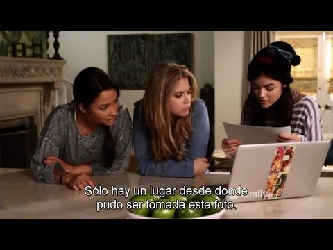 """PLL - The Liars SUBTITULADO 1x15 """"If at First You Don't Succeed, Lie, Lie Again"""""""