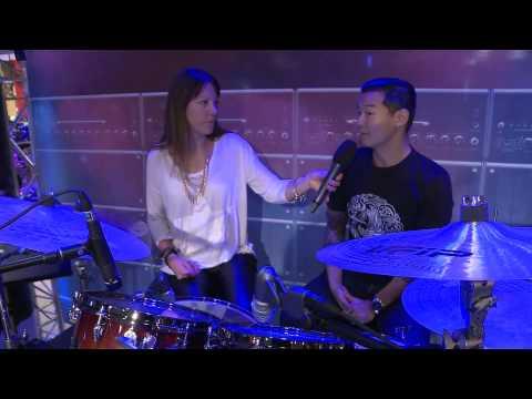 Custom (musician) - Yamaha,Musc,Europe,Drums,Live Custom,Yamaha Corporation (Business Operation),Drumming,Drums (Musical Instrument)
