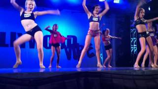 Maddie Ziegler: Final Audition At Hollywood Vibe; 2nd Row.