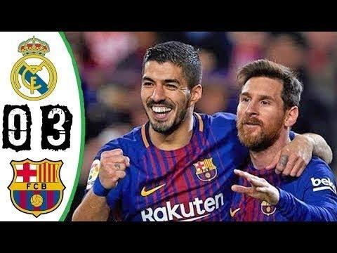 Real Madrid vs Barcelona 0-3    All Goals & Highlights(23 -12-2017)   HD