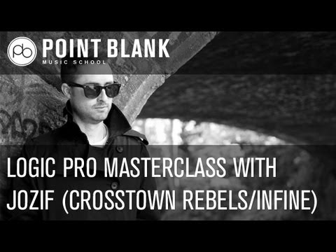 Logic Pro Masterclass with jozif – 26.02.13, 4pm (BST)