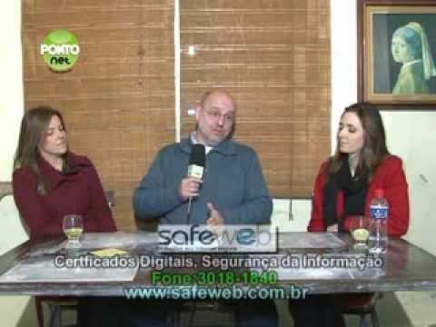 Ricardo Orlandini entrevista Aniele Schmittel e Caroline Cervi da Scarlett Beleza & Estética
