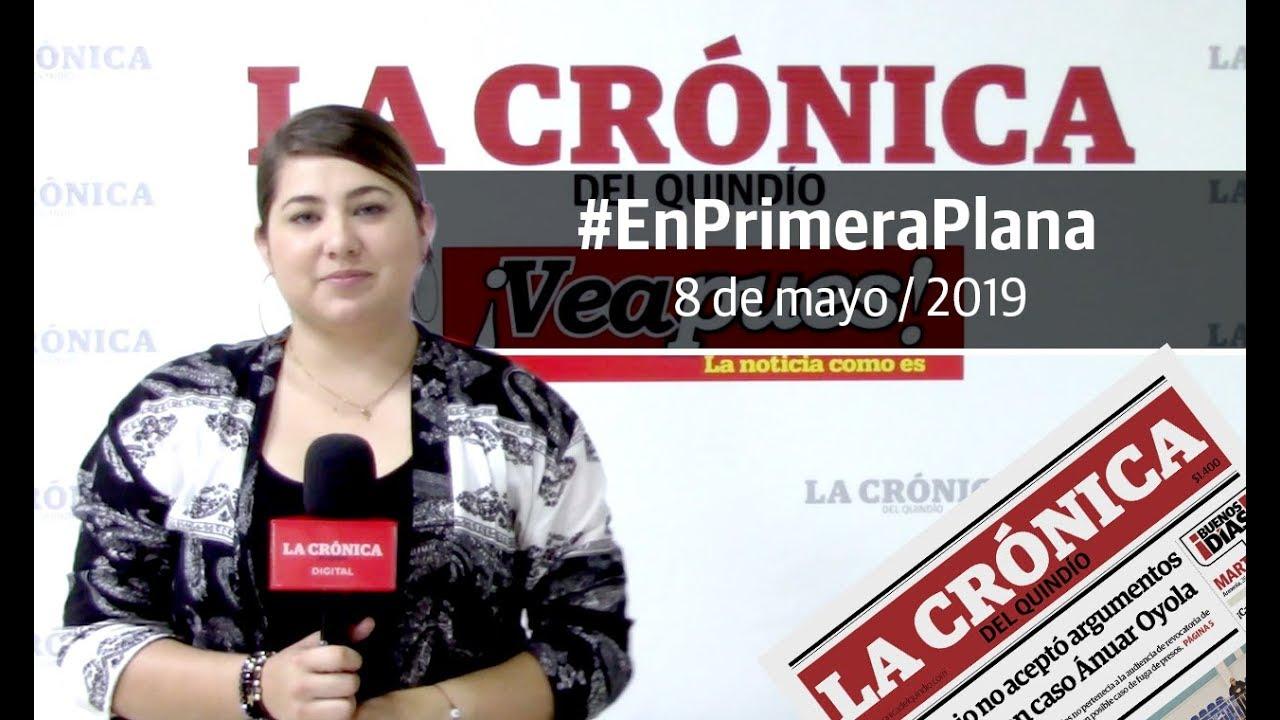 En Primera Plana: lo que será noticia este jueves 9 de mayo