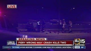 Two dead in wrong-way crash on Loop 101