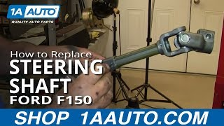 How To Fix Loose Clunking Steering shaft 2004-11 Ford F150 F-150