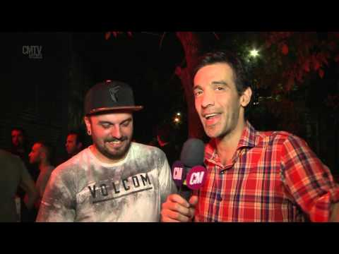 Infierno 18 video Entrevista CM (Up Front Sony Music ) - Octubre 2015