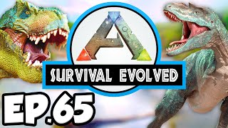 ARK: Survival Evolved Ep.65 - ICE CAVE ARTIFACT SEARCH!!! (Modded Dinosaurs Gameplay Let's Play)