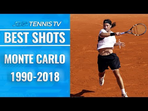 Best Shot from Every Year at the Rolex Monte Carlo Masters
