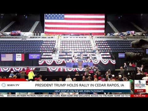 LIVE Stream: President Donald Trump Rally in Cedar Rapids, IA 6/21/17