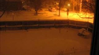 Denver Snowstorm Timelapse, Feb 1-4 2012