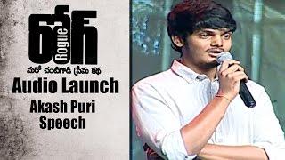 Video Akash Puri Speech at Rogue  Audio Launch  || Puri Jagannadh || Ishan, Mannara,  Angela MP3, 3GP, MP4, WEBM, AVI, FLV September 2018