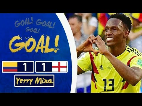COLOMBIA - INGHILTERRA 1-1