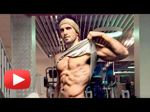 WATCH Ranveer Singh HOT Abs Workout Video