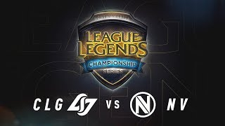 VOD of Counter Logic Gaming vs. Team Envy (Game 1) Quarterfinals Day 2 2017 #NALCS Counter Logic Gaming Lineup:...