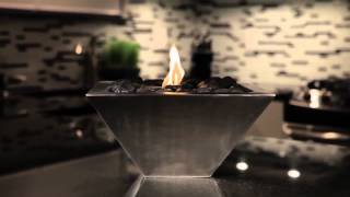 """Ever heard the saying, """"the best things come in small packages""""? That definitely applies to this fabulous table top fireplace. Anywhere Fireplace™ Empire model ..."""