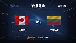 Tomas vs Luker, game 1