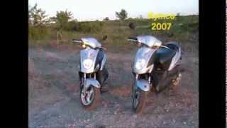 2. Kymco Agility 50  2007