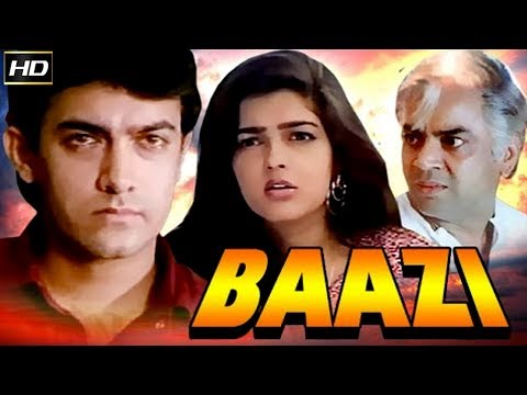 Baazi 1995 - Action Movie | Aamir Khan, Mamta Kulkarni, Mukesh Rishi, Paresh Rawal.