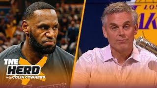 Colin reacts to Kenny Smith naming LeBron James as the 10th-best player of all time | NBA | THE HERD by Colin Cowherd