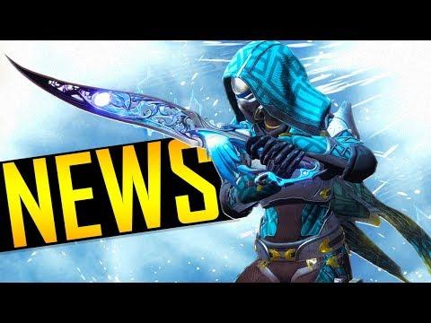 Destiny 2 - MASSIVE NEWS UPDATE! (видео)