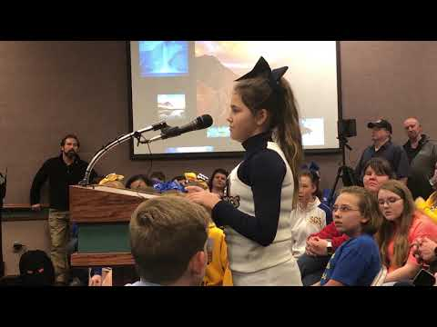 Video: Student speaks against school closure Jan. 8, 2019