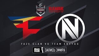 FaZe Clan vs Team EnVyUs - ELEAGUE Premier 2017 - map1 - de_nuke [Crystalmay, sleepsomewhile]